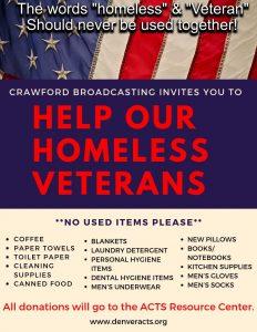 Homeless Veteran Flier