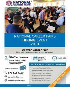 Denver Job Fair October 2019 KLVZ