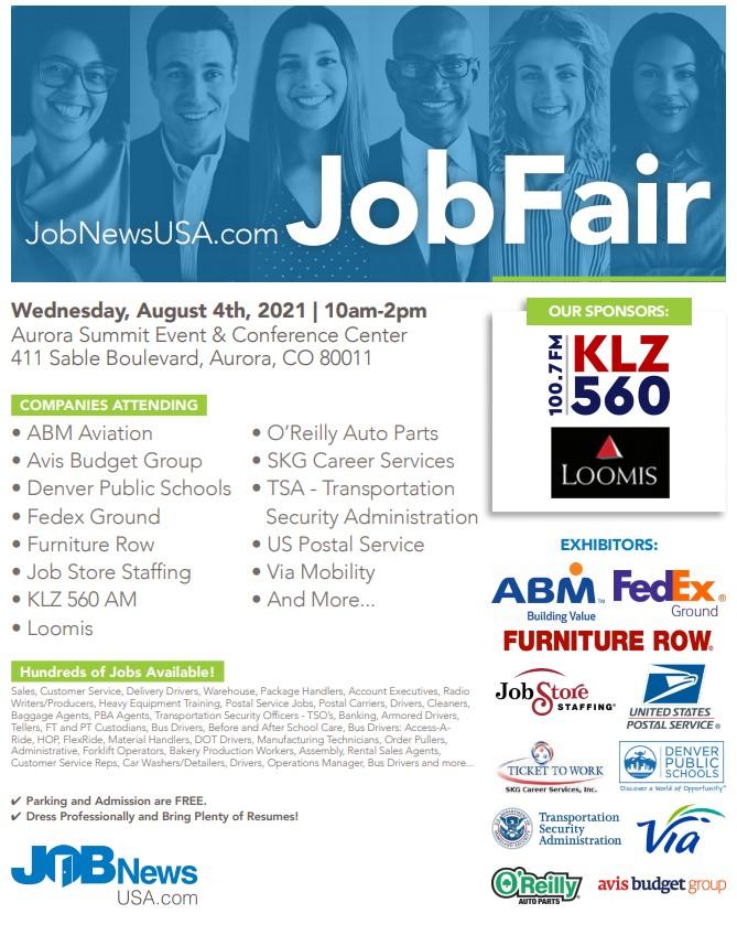 Denver Job Fair August 2021